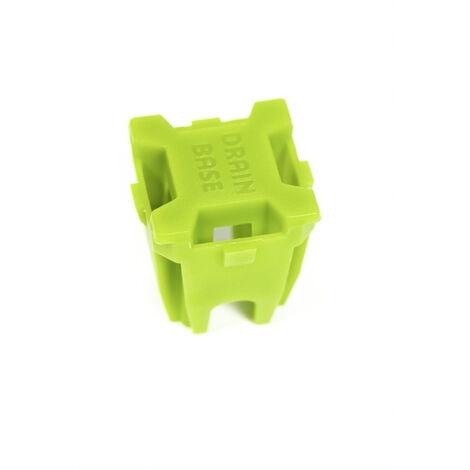Bouchon fixation gazon synthétique+ Vis autoperforante GREEN AVENUE - 50 pièces - BOUCHFIX50