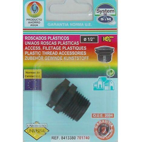 """main image of """"Bouchon Irrigation goutte � goutte Extr�mit� filet�e m�le 1/2' Polypropyl�ne S&M 701740"""""""
