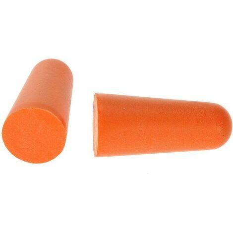 """main image of """"Bouchon mousse Anti-bruit Portwest PU (200 paires) Orange Unique - Orange"""""""