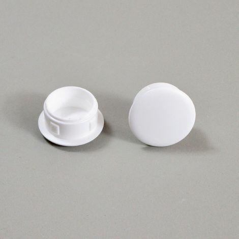 Bouchon Obturateur en Plastique Blanc - Plusieurs Dimensions