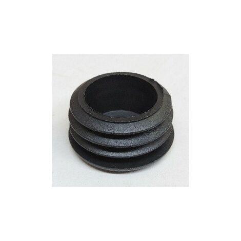 Bouchon plastique pour mat d'antenne Ø 40mm noir (à l'unité) TONNA 506041