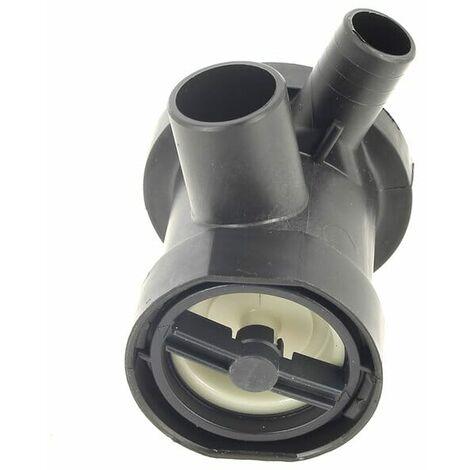 Bouchon pompe+corps pour Lave-linge Bauknecht, Seche-linge Bauknecht, Lave-linge Philips, Lave-linge Laden, Lave-linge Whirlpool, Seche-linge Whirlpoo