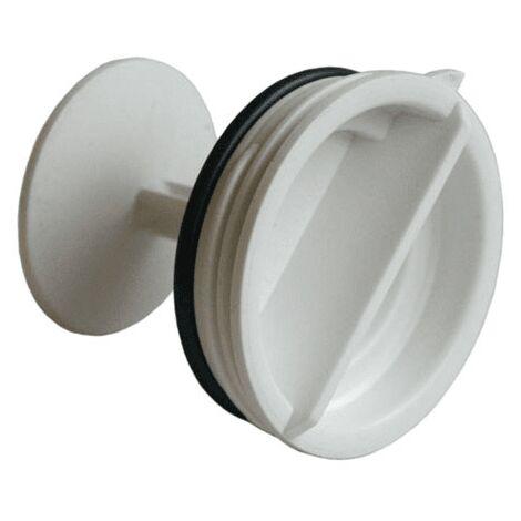 bouchon pompe de vidange clippe pour lave linge FAGOR
