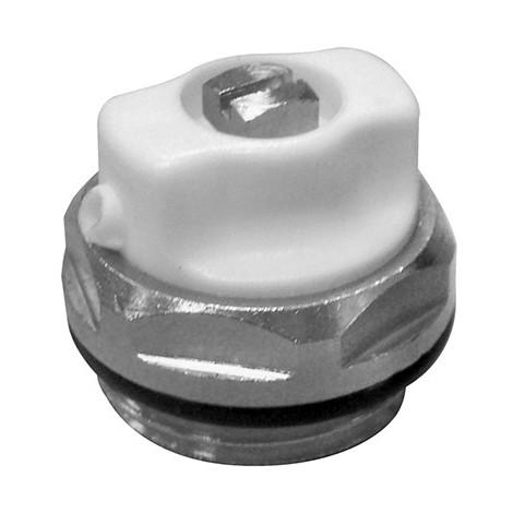 Bouchon purgeur bec orientable 1/2 - l'unité de Caleffi - Catégorie Robinetterie de radiateur