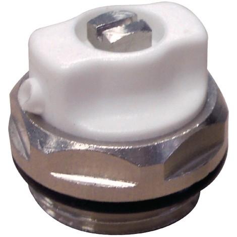 Bouchon purgeur bec orientable 1/2 - l\'unité de Caleffi - Robinetterie de radiateur