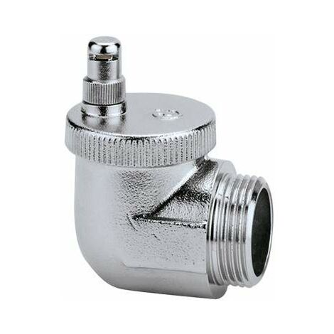 Bouchon purgeur d'air automatique pour tous types de radiateurs Caleffi 504