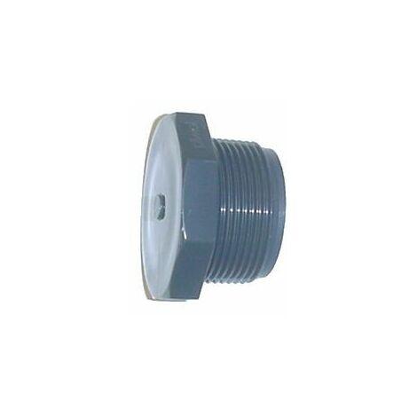 Bouchon PVC pression à visser M - Générique - Plusieurs modèles disponibles