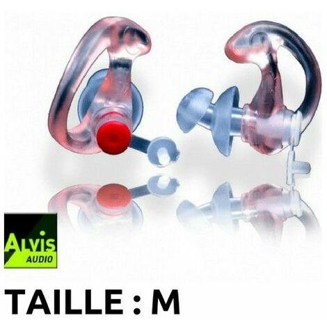 Bouchons d'oreilles high-tech Alvis Mk3 (26db) - Taille M