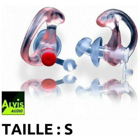 Bouchons d'oreilles high-tech Alvis Mk3 (26db) - Taille S - blanc