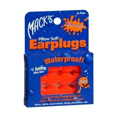 Bouchons d'Oreilles Waterproof Enfants Mack's