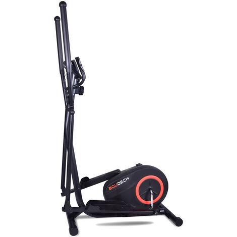 """main image of """"BOUDECH - BOOST 5000 - Bicicleta elíptica bidireccional de entrenamiento cruzado con un volante de inercia de 5kg ultra silencioso, resistencia magnética ajustable en 8 niveles y diseño con doble manija y monitor de ritmo cardíaco."""""""