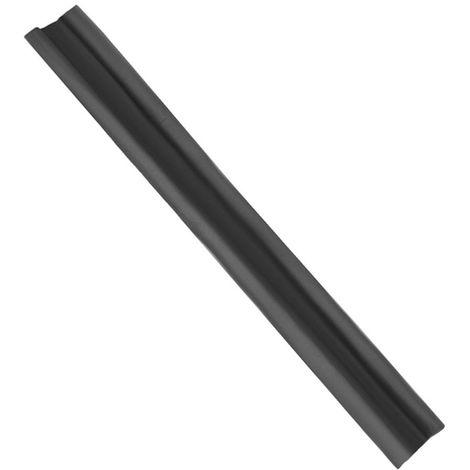 Boudin de porte double protection anti-froid Noir - Noir