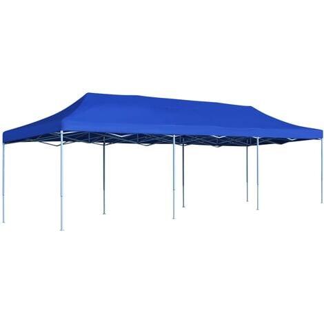 Boudreau 3m x 9m Steel Pop-Up Party Tent by Dakota Fields - Blue