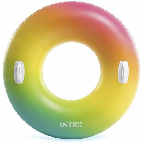 Bouée geante gonflable INTEX Color Whirl