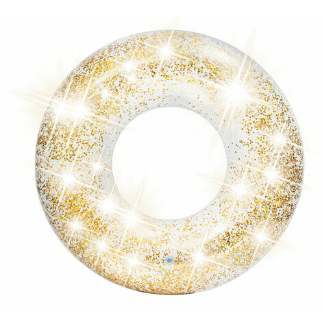 Bouée gonflable Paillettes Or Ø 119 cm - Intex
