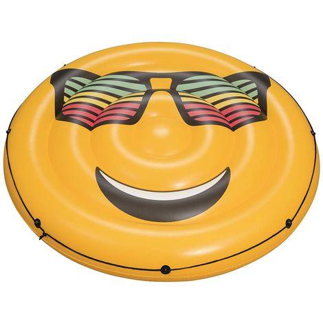 Bouée gonflable piscine Bestway LOUNGE Fashion Smiley Ø188cm