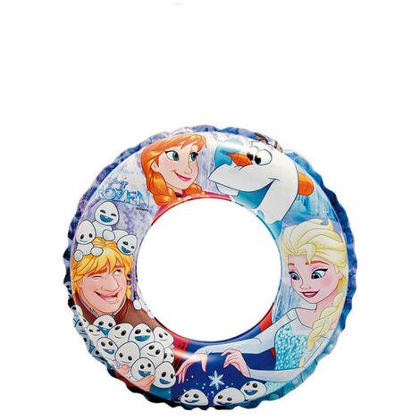 Bouée gonflable princesse des neiges - 51 cm de diamètre