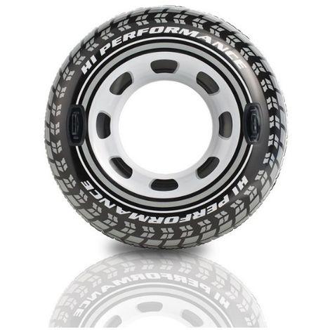 Bouée pneu avec poignées - 114 cm de Intex - Jeux piscine
