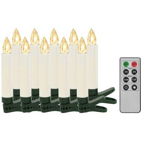 WeRChristmas Grande d/écoration de No/ël Lumineuse Motif Village en Bois /éclair/é avec 10 Lampes LED Blanc Chaud