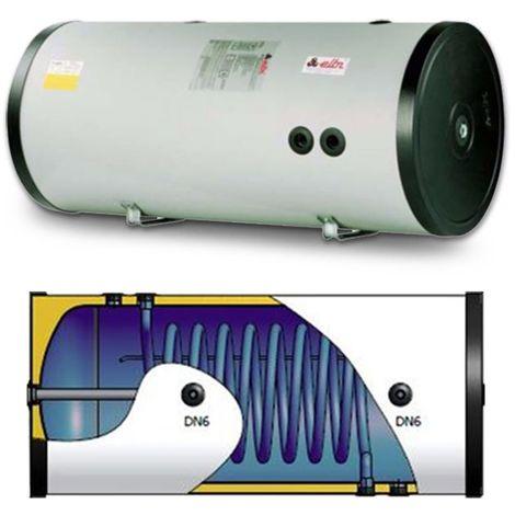 Bouilloire, réservoir vitrifié avec échangeur fixe, pour la production de l'aqua chaud sanitaire, vertical ou horizontal installation