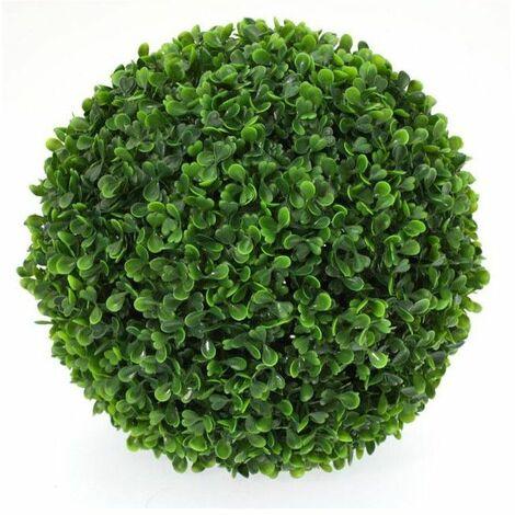 Boule de buis - Plante verte artificielle - D 28 cm - Livraison gratuite