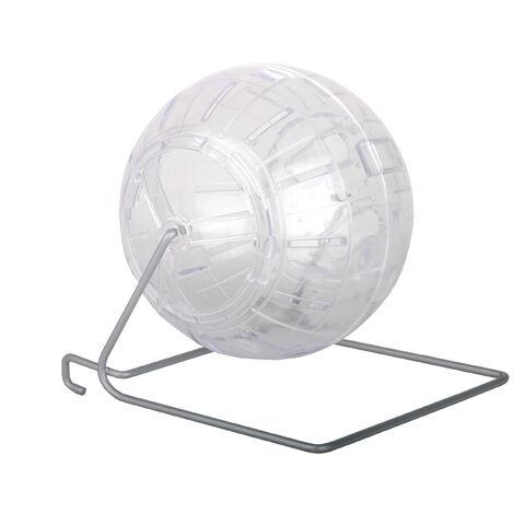 Boule d'exercice avec support en métal amovible, 18 cm