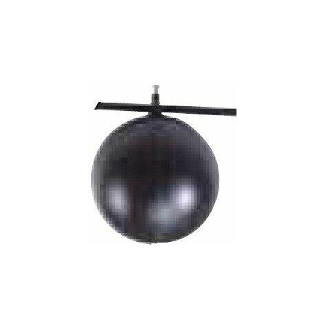 BOULE FLOTTEUR NOIRE DIAMETRE 150 mm