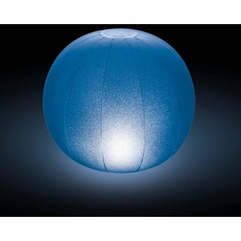 Boule gonflable étanche à led multicolore Intex Ø23 x h22cm