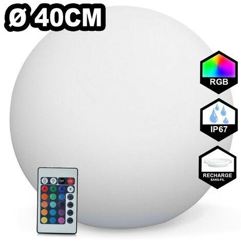 Boule LED Lumineuse Multicolore Ø 30 40 50 60