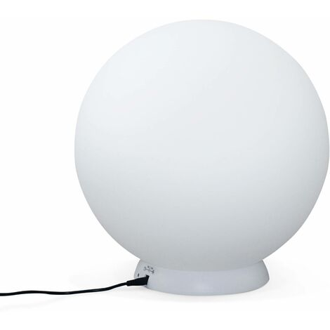 Boule lumineuse LED 40 cm SANS Fil 16 couleurs, étanche, recharge sans fil avec télécommande - Alice's Garden