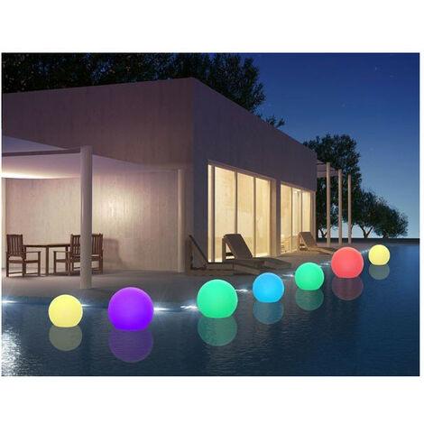 Boule lumineuse Multicolore Rechargeable BOBBY C Ø30, 40, 50 et 60cm