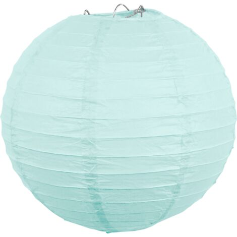 Boule papier 20cm Aqua Marine - Aqua Marine
