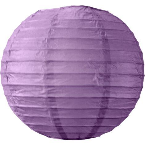 Boule papier 20cm Aubergine - Aubergine