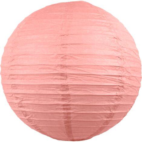 Boule papier 30cm Rose Blush
