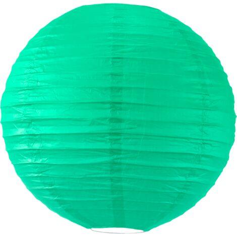 Boule papier 30cm Vert d'eau - Vert Eau