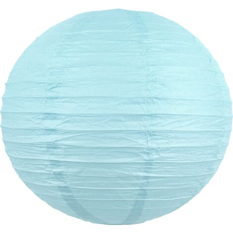 Boule papier 40 cm Bleu Ciel - Bleu Ciel