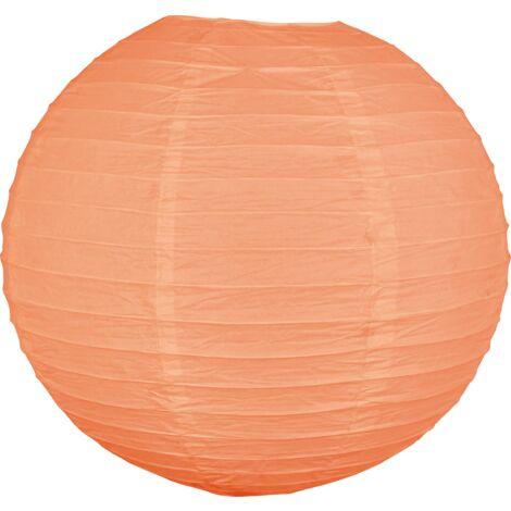 Boule papier 40cm Aubergine - Aubergine