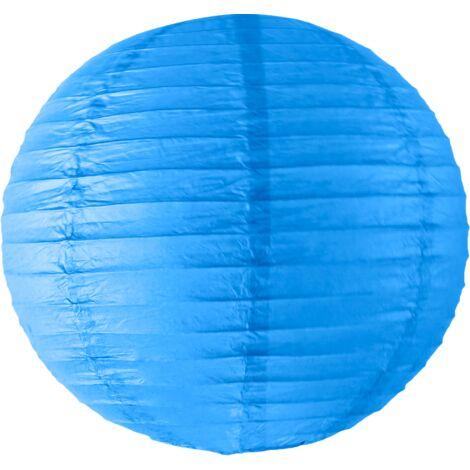 Boule papier 40cm Bleu roi - Bleu Roi