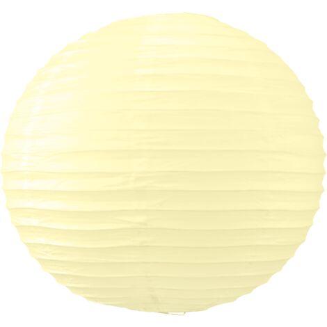 Boule Papier 40cm Ivoire (Nouvelle Collection)