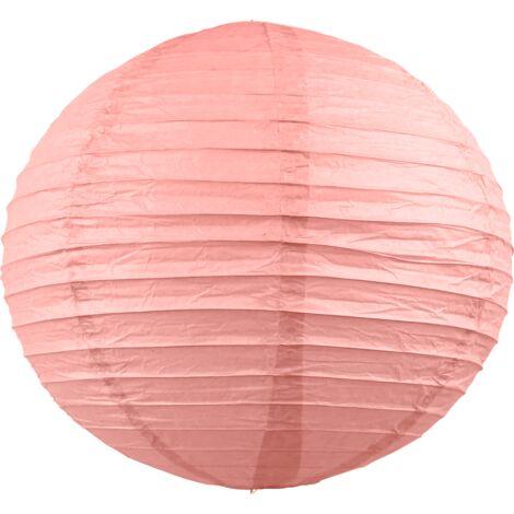 Boule papier 40cm Rose Blush