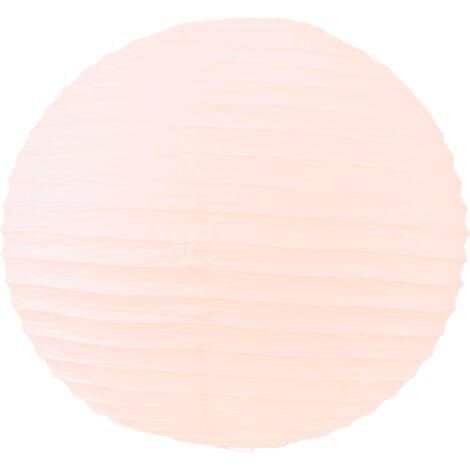 Boule papier 40cm Rose Saumon