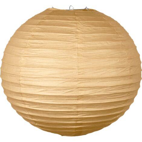 Boule Papier 40cm Sable