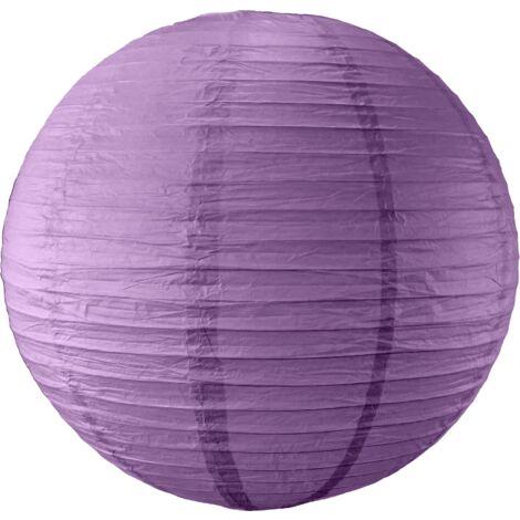Boule papier 50cm Aubergine - Aubergine