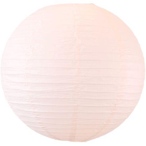 Boule papier 50cm Saumon