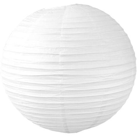 Boule Papier 60cm Blanc