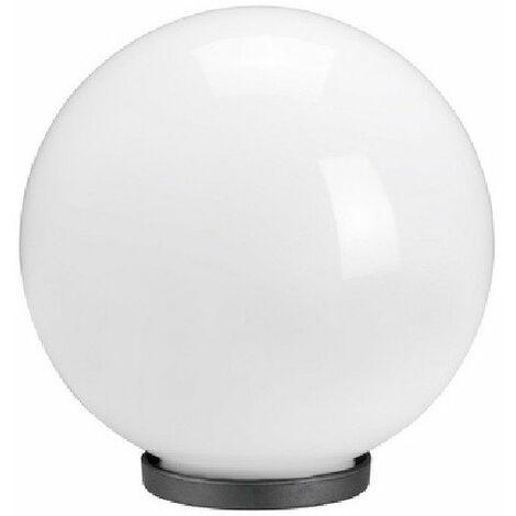 Boule Rosa - Opale blanc - Diamètre 400 mm