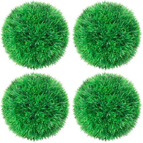 Boules de buis artificielles 4 pcs 12 cm