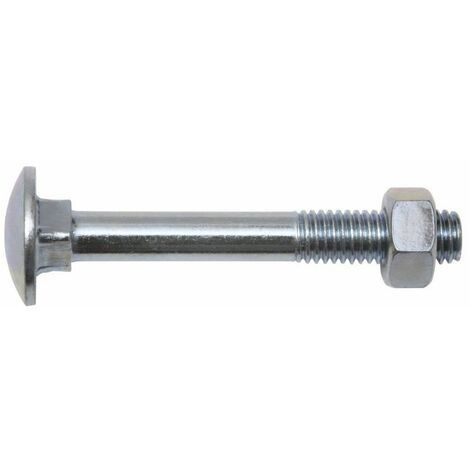 Boulon de carrosserie Dimension produit, Ø 8 mm x 40 mm SWG 223 8 40 67 4 pans DIN 603 acier galvanisé 25 pc(s)