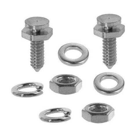 m10-Acier Blank 10 à 240 mm 25 pcs Boulon Hexagonal DIN 933-qualité 8.8