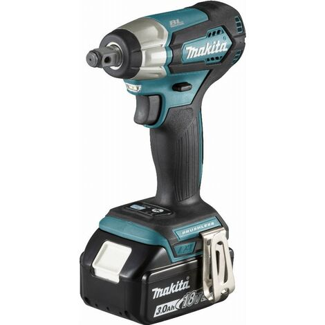 Boulonneuse à chocs 18 V Li-Ion 3 Ah 180 Nm MAKITA - 2 batteries, chargeur, coffret - DTW181RFJ